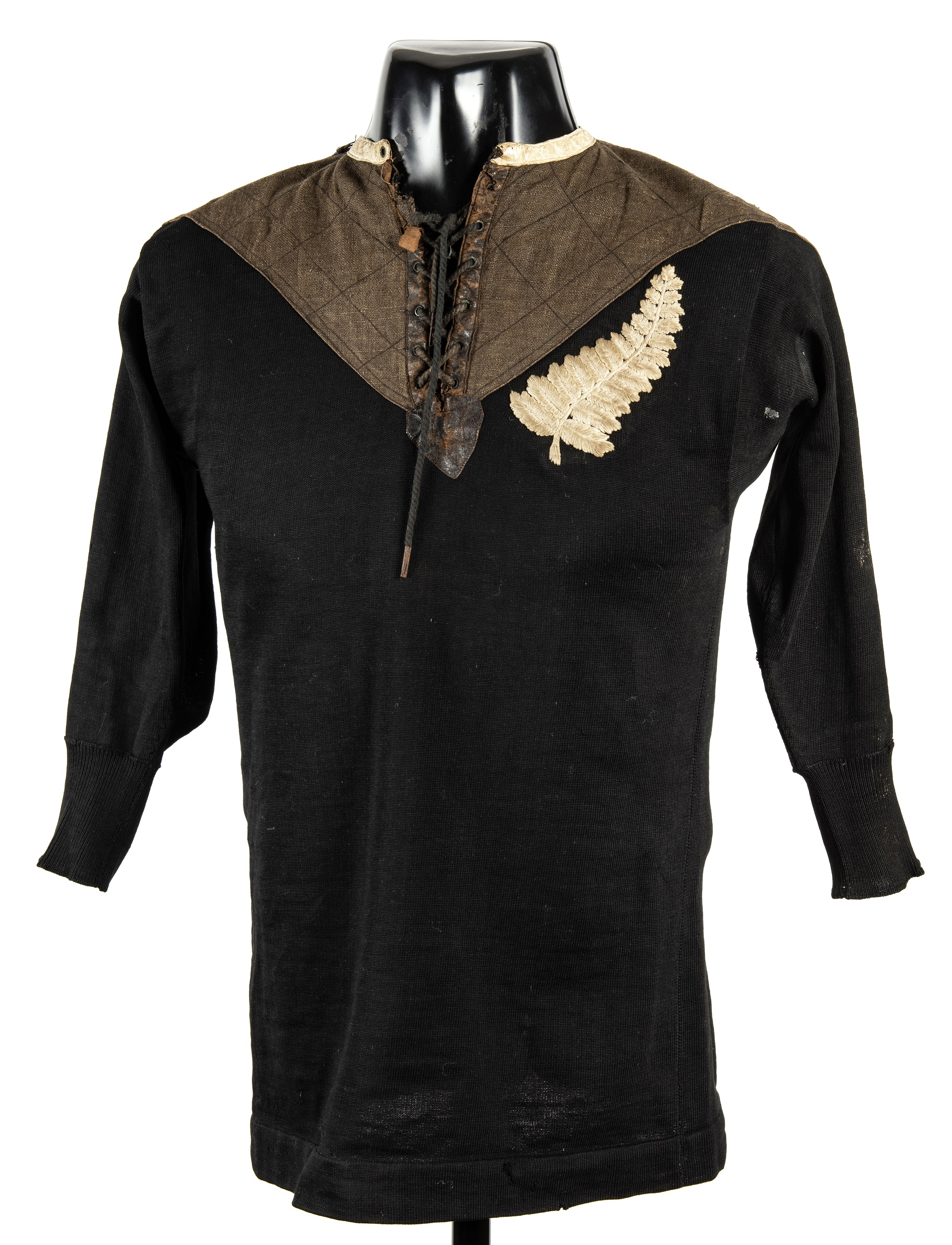 1905 - Originals All Black Jersey - New Zealand - Rugby Memorabilia Society