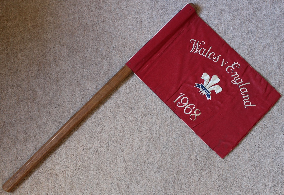 1968 England v Wales Touch Judge Flag (1)