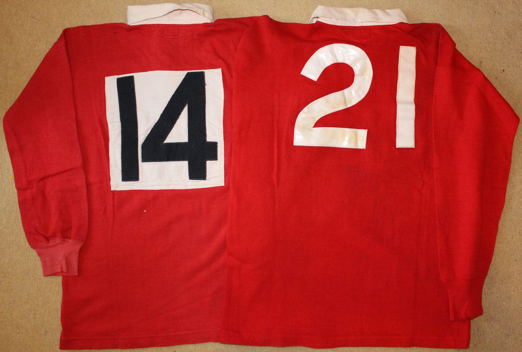 Alun Pask - Match Worn Jerseys - Rugby Memorabilia Society (1)