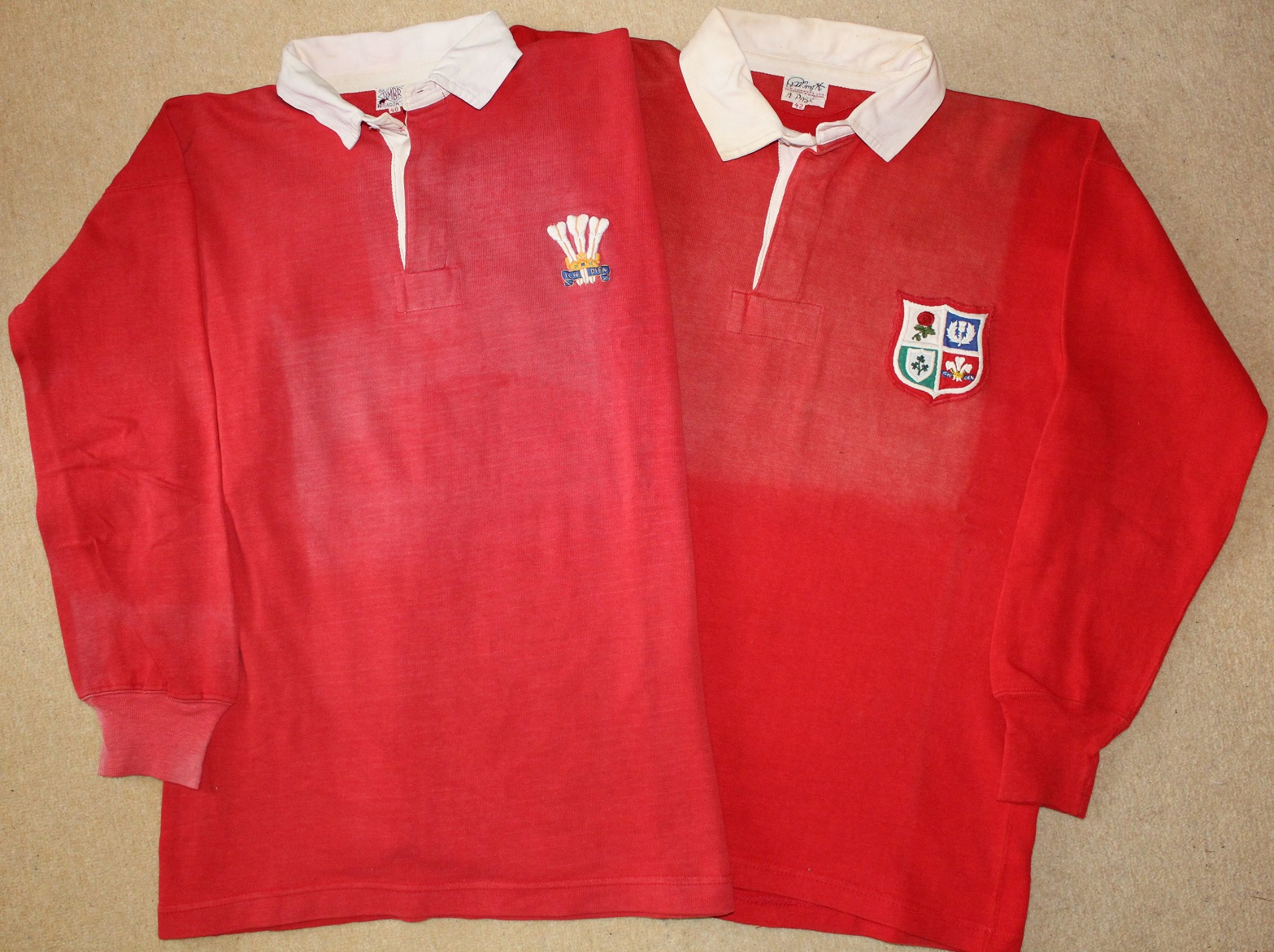 Alun Pask - Match Worn Jerseys - Rugby Memorabilia Society (2)
