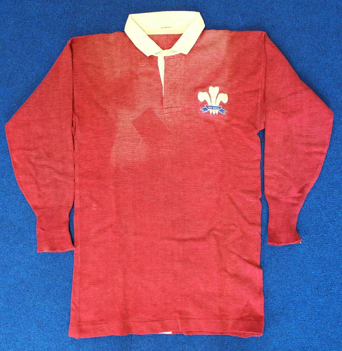 Cecil Pritchard - Wales Jersey - Rugby Memorabilia Society