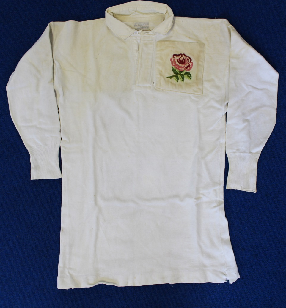 England Jersey - Rugby Memorabilia Society