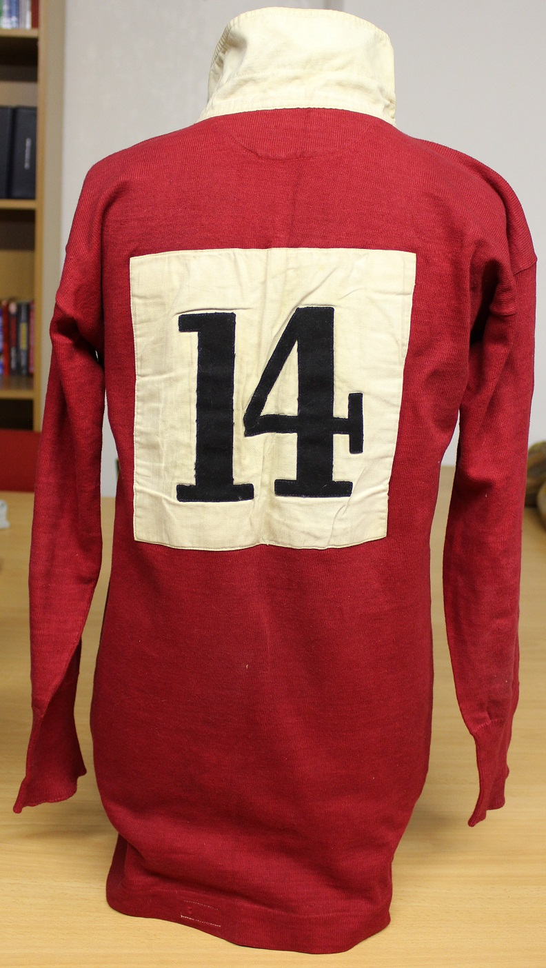Rugby Memorabilia Society - Phil Waller Match Worn Wales Jersey  - WRU (2)