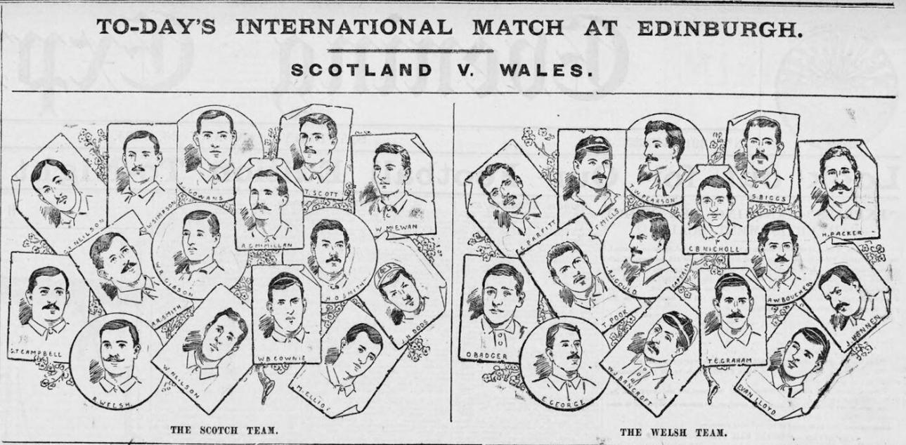 Scotland & Wales Team illustrations - Evening Express 26th Jan 1895.jpg