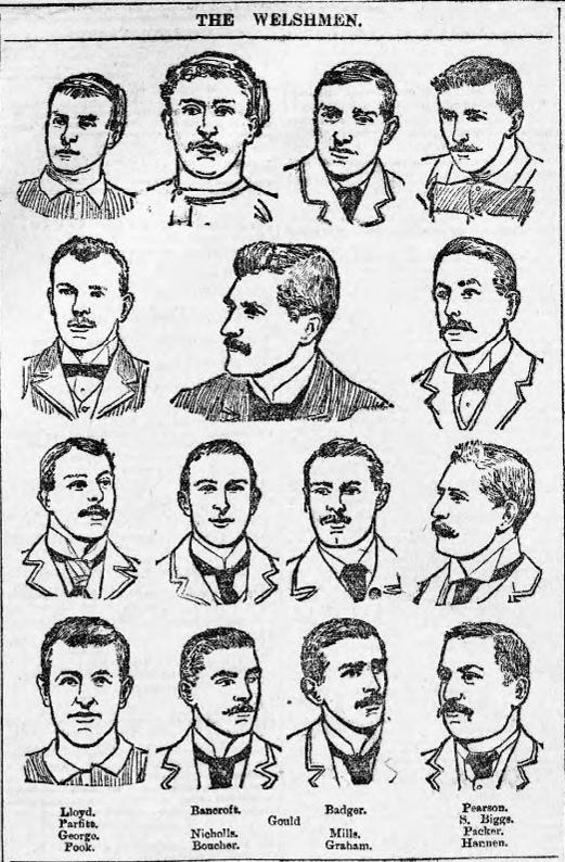 South Wales Daily News 26th Jan 1895 - Welsh Team (2).jpg