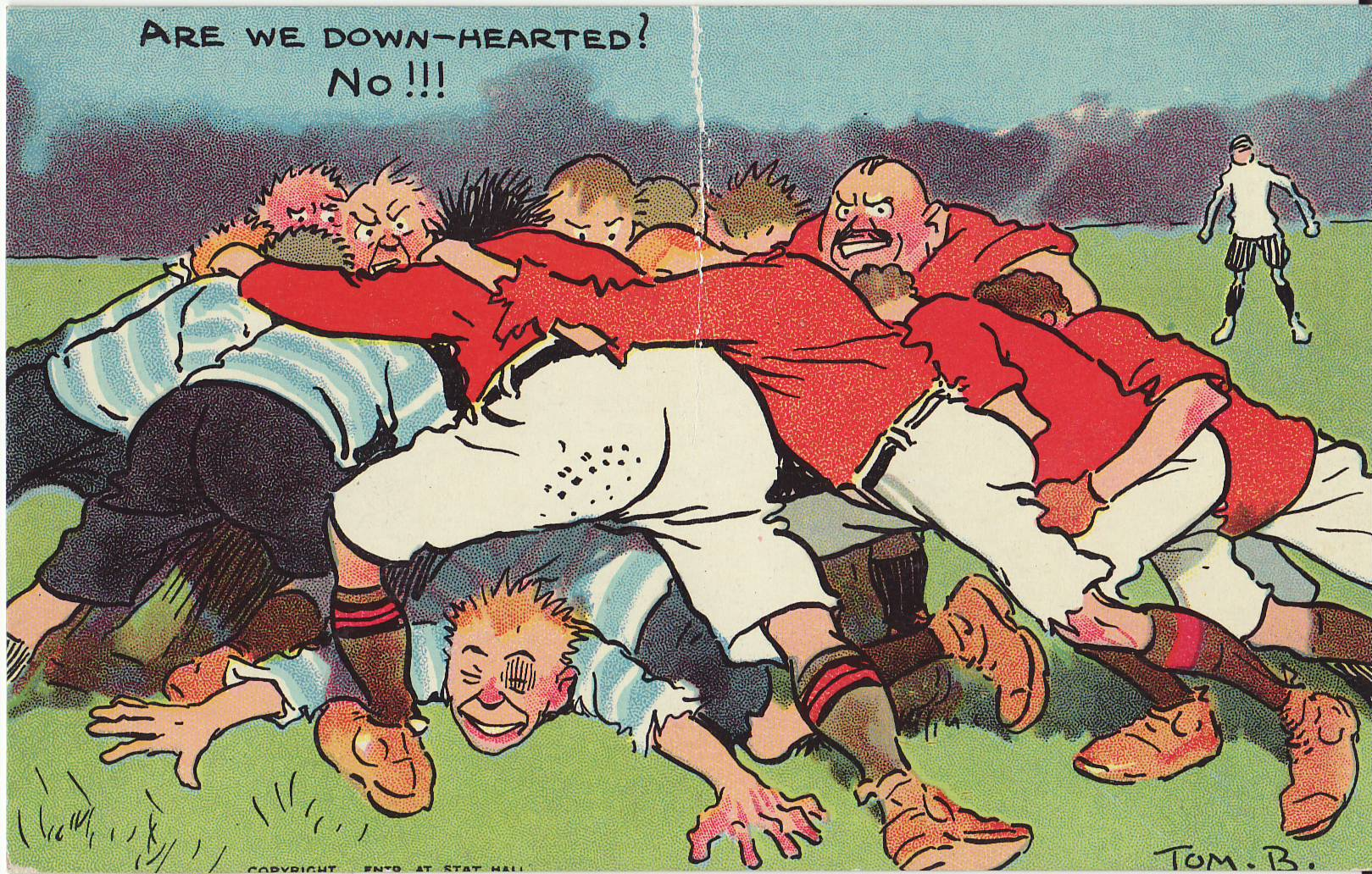 Tom Browne - Rugby Poscards (7)